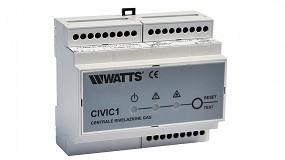Foto de Unidades de control y detectores de gas Watts para la industria y el hogar