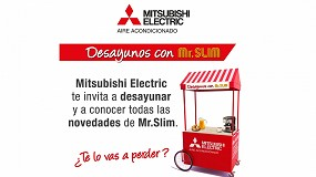 Foto de Jornadas informativas de Mitsubishi Electric para mostrar las novedades de su gama Mr. Slim
