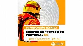 Foto de Aitex lanza la segunda edición del curso de Información Técnica de Equipos de Protección Individual