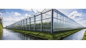 Foto de Fountain, de AGC, vidrio avanzado para invernaderos