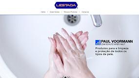 Foto de Lestada com novo website