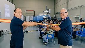 Foto de Sumitomo (SHI) Demag Espanha leva mais de 160 pessoas ao seu novo Centro Tecnológico em IBI