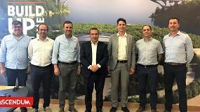Foto de Ascendum recebe visita de representantes da Metso Outotec