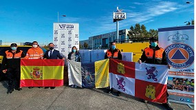 Foto de Comercial Ulsa dona material de seguridad y vestuario para La Palma