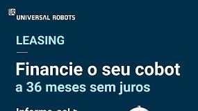 Foto de Programa de leasing da Universal Robots apresenta novas condições para ajudar a automação das PME