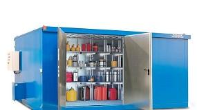 Foto de Contentor modular para armazenamento de substâncias perigosas MCV