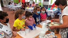Foto de La asociación de cabra Payoya organiza un taller de elaboración de quesos para niños