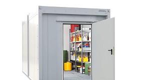 Foto de Contentor modular para armazenamento de substâncias perigosas WFP