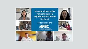 Foto de AFEC ha organizado para sus socios una Jornada sobre Temas Técnicos y Legislativos de Interés Sectorial