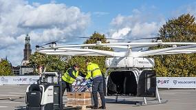 Foto de Alemanha: DB Schenker e Volocopter realizam o primeiro voo público do Volodrone