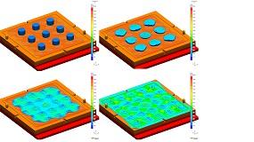 Foto de Nova versão do Sigmasoft permite calcular a moldagem por compressão