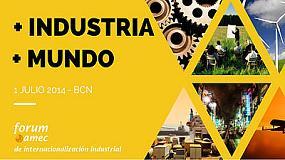 Foto de Interempresas colabora con el 'Fórum amec de internacionalización industrial'
