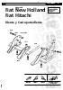 Diente y Cantoportadiente Fiat New Holland Fiat Hitachi