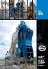 Demolición y reciclaje: Serie FR