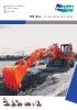 Excavadoras de ruedas, DX140w