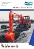 Excavadoras de ruedas, DX160w
