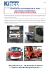 Sistema de plataformas R-10 para industrias carroceras peso por eje o por rueda