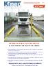 Sistema de pesaje fijo por ejes R125 pesaje de vehículos en estático y en dinámico