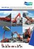 Global Range: Excavadoras de orugas, excavadoras de ruedas,cargadoras de ruedas, dúmperes articulados, aplicaciones especiales, manipulador telescópico