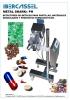 Detectores de metales para pastillas, materiales granulados y productos farmaceúticos