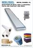Detectores de metal para ind. textil, del plástico y del papel