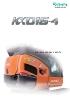 Miniexcavadora 1540kg KUBOTA KX016-4