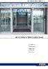 Sistemas para puertas automáticas peatonales Geze