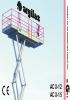 Catálogo plataformas de tijeras para elevación de personal modelos ACX-12 y ACX-15