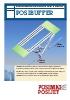 Transportador aéreo para botellas de plástico / sistema de acumulación Posibuffer