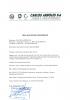 Declaración conformidad grifería agua