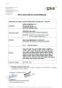 Declaración conformidad ANSIZ358.1-C