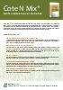 Cote N Mix: Fertilizante de liberación controlada
