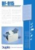 Duplo DF-915 Plegadora de escritorio automática