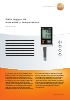 Data logger de humedad y temperatura-testo 175-H1
