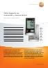 Data loggers de humedad y temperatura-testo 176 H1 y testo 175 H2