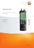 Manómetros para el sector de la calefacción y la fontanería-testo 312-2, 312-3, 312-4