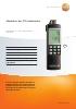Medidor de CO ambiente-testo 315-2 por seguridad y servicio