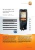 Analizador de combustión rápido y eficaz-testo 320