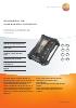 Analizador de combustión industrial-testo 350