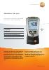 Medidor de rpm sin contacto-testo 460