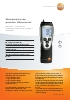 Manómetro de presión diferencial-testo 512