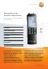Manómetro de presión diferencial-testo 521