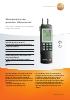 Manómetro de presión diferencial-testo 526