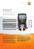 Analizador de refrigeración-testo 557