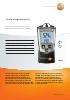 Termohigrómetro-testo 610