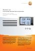 Medidor de humedad, temperatura y presión-testo 622