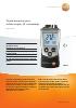 Termómetro por infrarrojos (2 canales)-testo 810