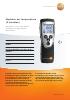 Medidor de temperatura (2 canales)-testo 922