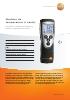 Medidor de temperatura (1 canal)-testo 925