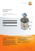 Caudalímetro portátil testo-para calcular el rendimiento real de la caldera